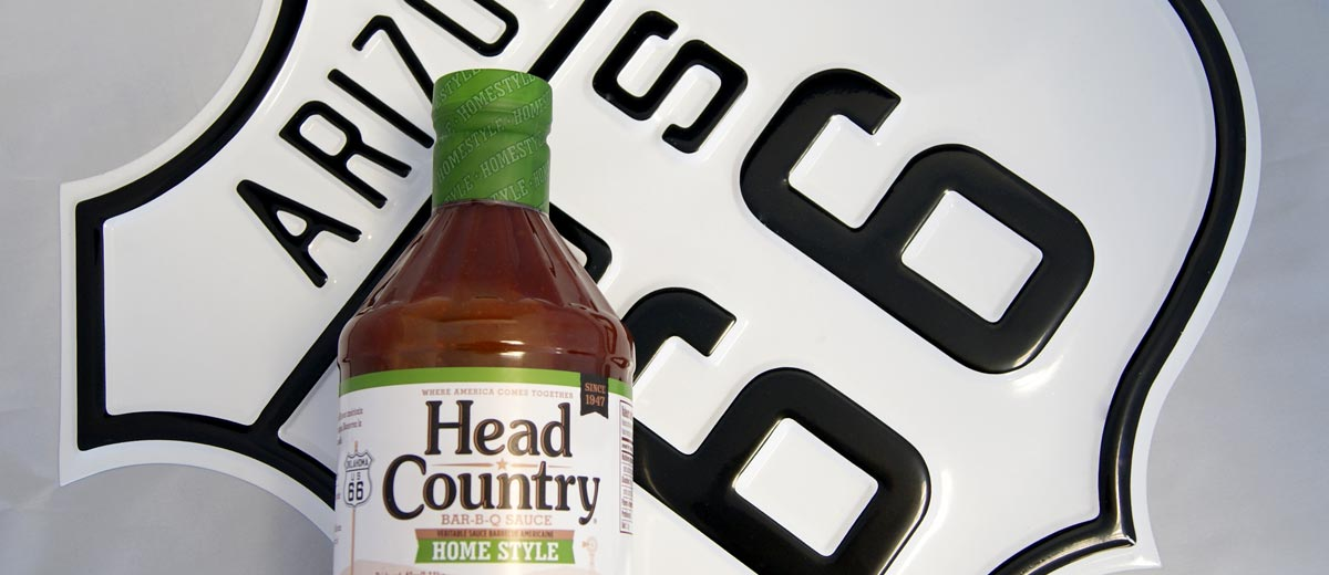 Sauce barbecue homestyle head country 1,11kg